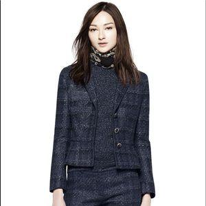Tory Burch Tweed Blazer size 2